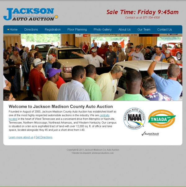 Jackson-Madison County Auto Auction