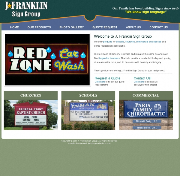 J. Franklin Sign Group