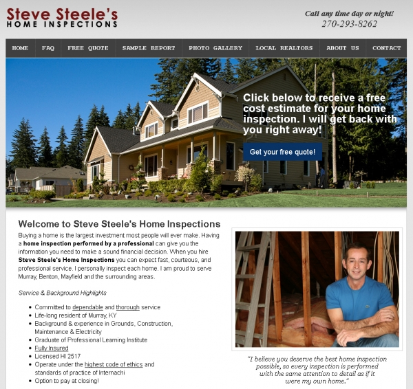 Steve Steele's Home Inspections